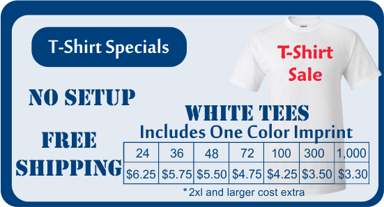 One color screen print special